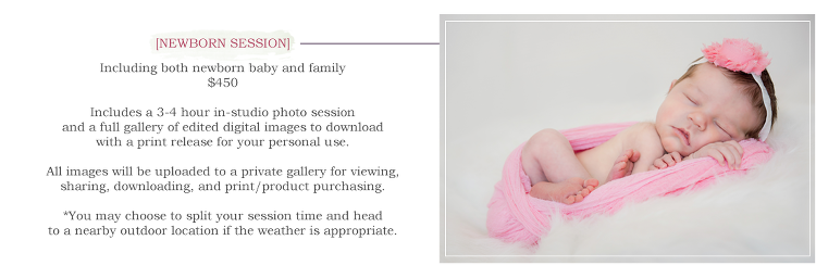 Newborn Session Pricing